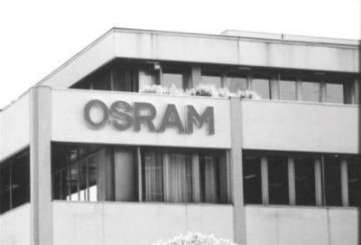 1996, Osram, Sede Milano