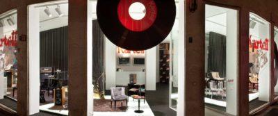 2012, Kartell, Flag Store Milano, Kartell Goes Rock