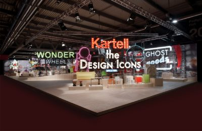 2011, Kartell, Salone del Mobile Milano, The Design Icons