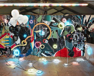 2005, Galleria MDC, Milano, installazione, Assume Vivid Astro Focus (avaf)