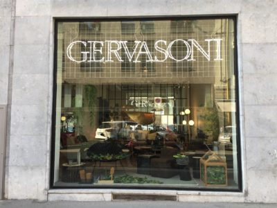 2017, Gervasoni, Showroom Milano