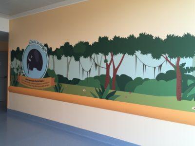 2015, Ospedale Niguarda Ca' Granda, Milano, Reparto di pediatria