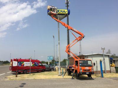 2016, Autostrade, Punto Blu Piacenza works in progress