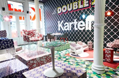 2018, Kartell, Flag Store New York, ICFF, La Double J