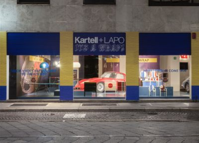 2016, Kartell, Flag Store Milano, Kartell+Lapo is Wrap
