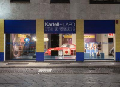2016, Kartell, Flag Store Milano, Kartell+Lapo is Wrap