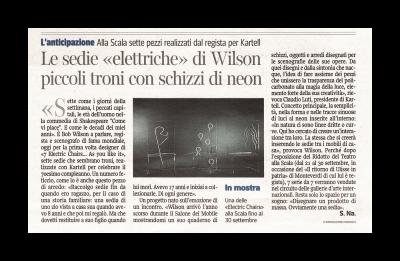Corriere della Sera, 17 settembre 2011
