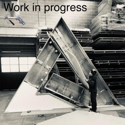 2019, Sfilata Borbonese Teatro Manzoni Milano work in progress
